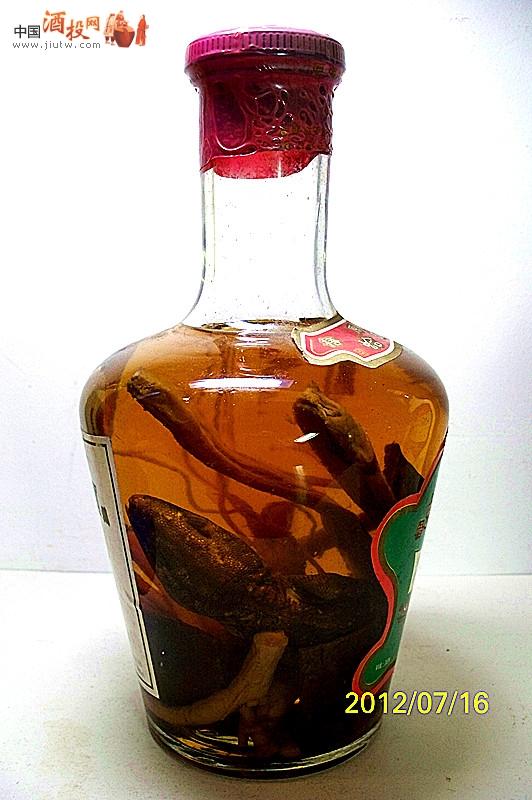 蛤蚧酒图片_图片三蛇蛤蚧酒1995年生产至今尚未开封仅