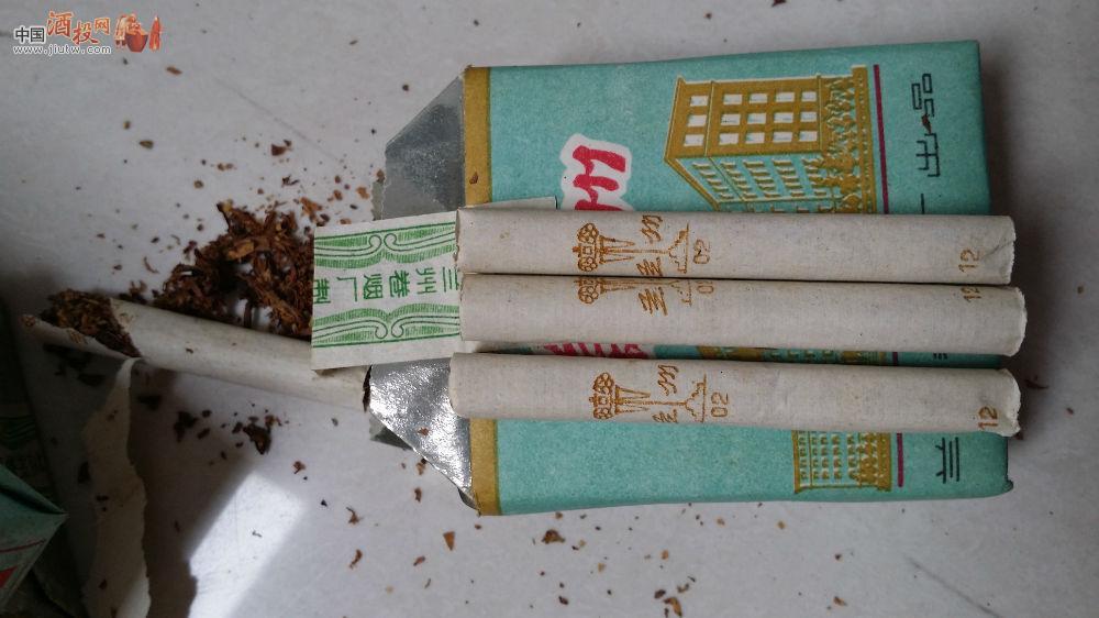 80年代老兰州香烟