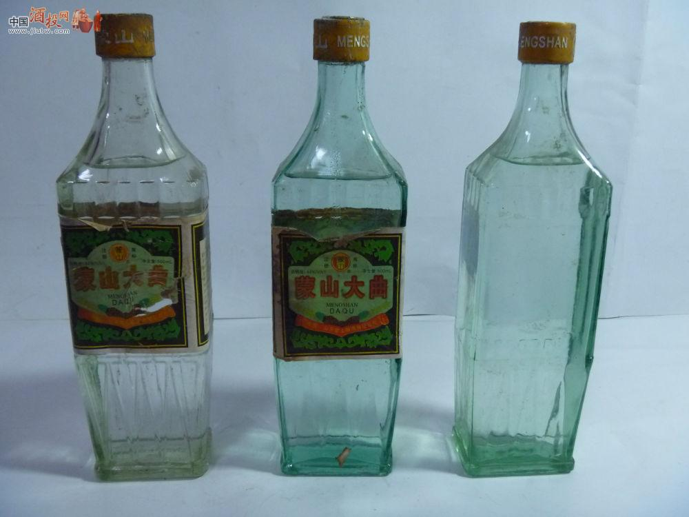 [已售]少见临沂老酒--蒙山大曲.方瓶,90年代中期,44度
