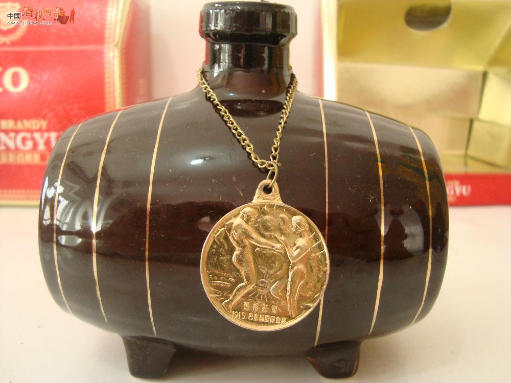 1988年获国际奖项的张裕木桶《xo金奖白兰地》██