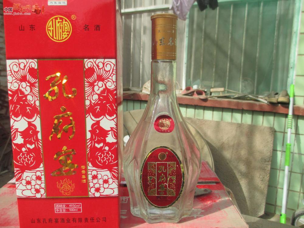 孔府宴酒36度价格和图片_[已售]山东酒 06年 孔府宴酒