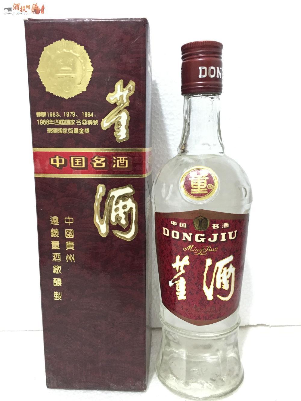董酒价格表和图片_***中国名酒 老八大*** 1991年董酒 (收藏级) 价格表 中国酒投网 ...