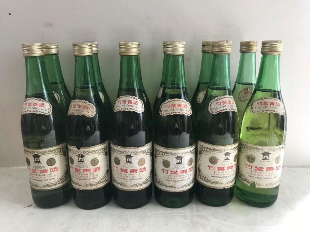 80年代 竹叶青12瓶 好喝