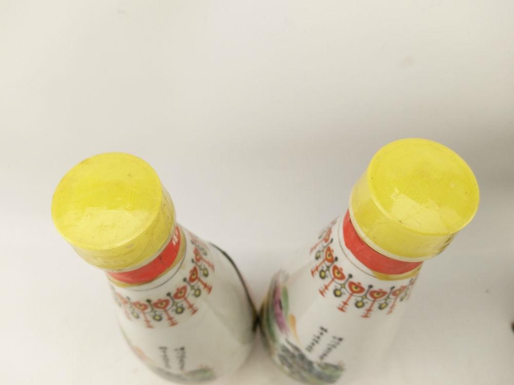 【神奇茅臺】◆◆◆1995年瓷瓶【古井亭】汾酒一對◆◆◆